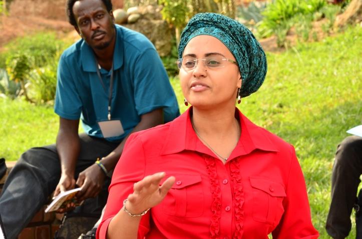 Naseemah Mohamed speaks at #Writivism2015 festival