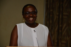 Nansubuga Makumbi delivering her Key note address