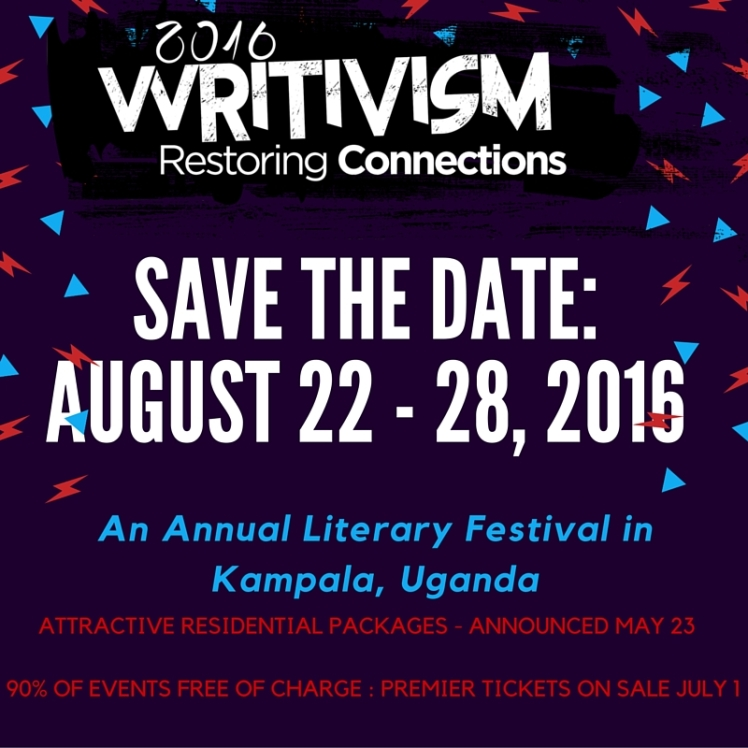 save the date- August 22 - 28, 2016