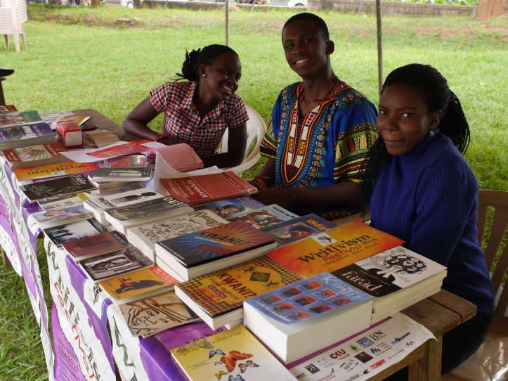 Books on sale at 2014 festival