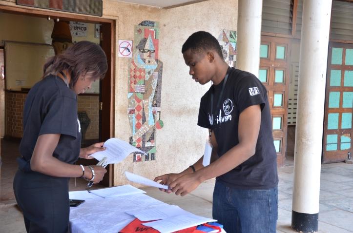 Lewis Ainebyona and Elizabeth Kitego